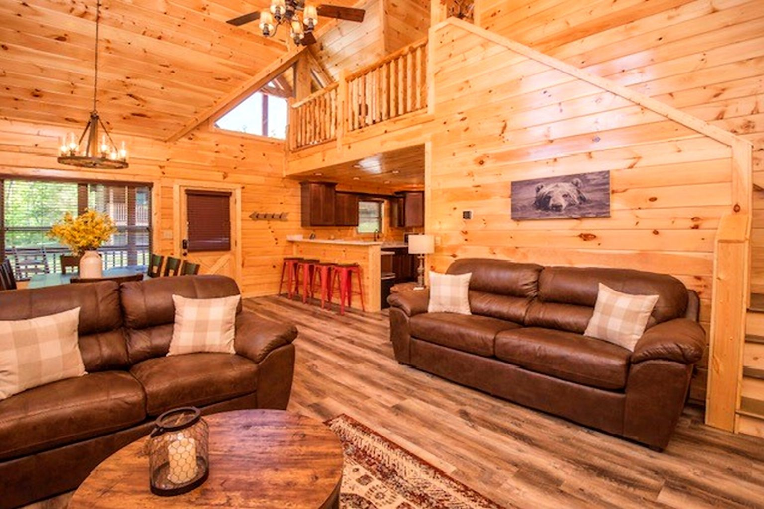 Cabin Living Area Cleaning Services
