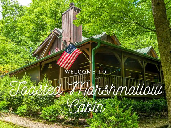Toasted Marshmallow Cabin in Pigeon Forge TN